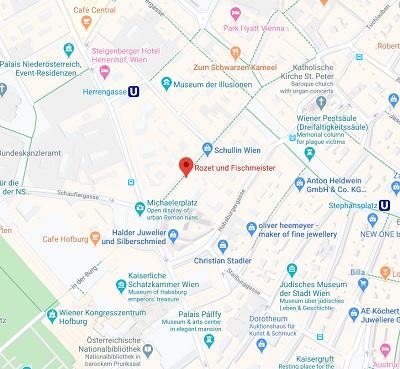 Rozet&Fischmeister Standort Karte