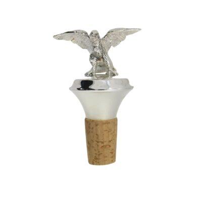 Silberkorken mit Adler