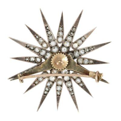 Antiker Diamantstern mittel