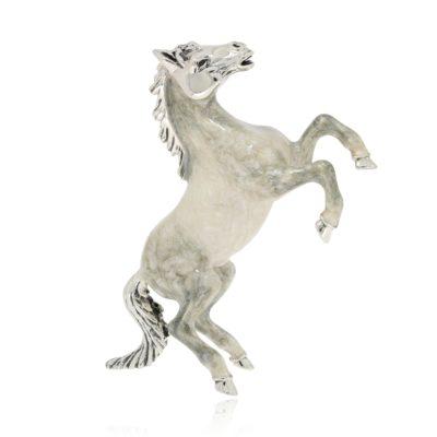 Silberfigur Lipizzaner