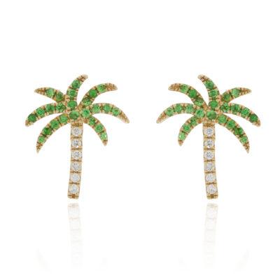 Ohrstecker Palmen