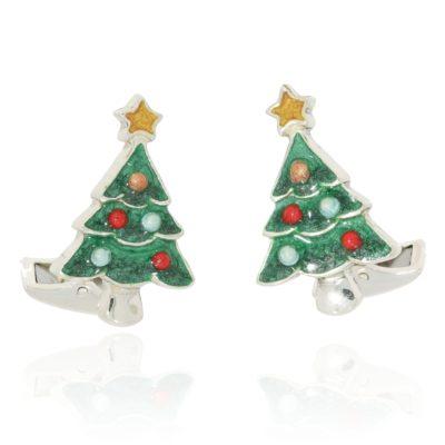 Manschettenköpfe Weihnachtsbaum