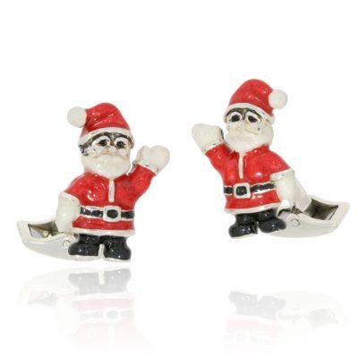 Manschettenköpfe Weihnachtsmann