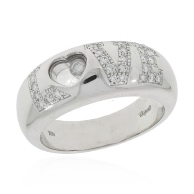 Chopard Happy Diamonds Love Ring
