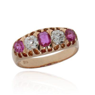 Vintage Rubin Ring